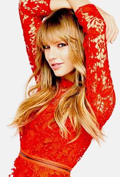 Taylor in Red! What can be better?