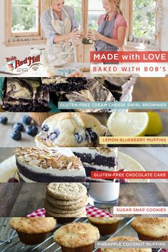 Bob's Red Mill offers the widest assortment of gluten-free, whole grain, and all purpose baking ingredients. Get your specialty baking on, with Bob's!