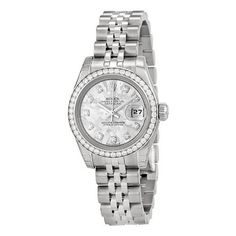 Diamond Bezel Jubilee Ladies Watch