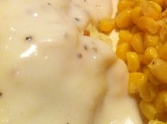 Good Old Fashioned White Gravy Recipe -- I made it this morning for breakfast and it is so good I could drink it. Lol