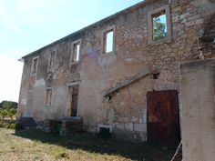 Old ruins with windows and doors nearby Paklenica/Gracac, Croatia. Photographed by Marleen van de Kraats, no photoshop or paint etc.
