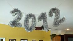 My Martha Stewart New Years Eve decoration!