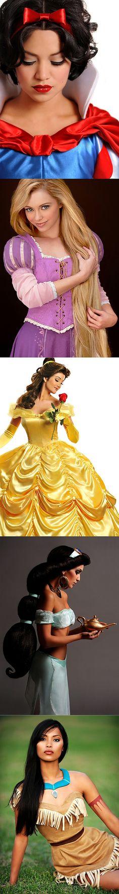 las princesas disney como serian de verdad..