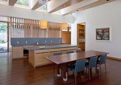 Kitchen, dining