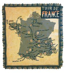 Tour De France!  Please follow us @ http://www.pinterest.com/wocycling