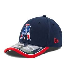 7f27be6e086 New Era 2014 Throwback On Field 39Thirty Cap-Navy Red New England Patriots  Merchandise