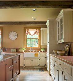 Beams Country Kitchens Color Decor Color Schemes Warm Colors