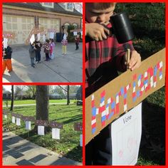 Election Day (Setting out Signs) Teach Preschool