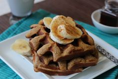 PaleOMG – Paleo Recipes – Cinnamon Banana Waffles