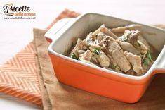 Una ricetta facilissima veloce da realizzare per un secondo ricco dei sapori dellautunno grazie al morbido sugo di funghi porcini.