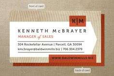 Head Honcho Business Cards by Susie Allen at Minted.com