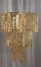 Roaring Twenties - Great Gatsby Party Ideas Gold Three Tier Chandelier More . Burlesque Party Decorations, Prom Decor, Diy Party Decorations, Decor Diy, Great Gatsby Party Decorations, 1920s Party Themes, Burlesque Theme Party, Gold Decorations, New Years Decorations