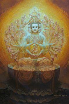 Guan Yin,  观音 - 觀音 - 観音 - Avalokiteshvara