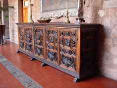 mexican rustic carved furniture image n