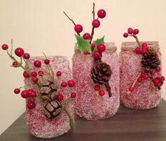 Vázák-gyertyatartókat és durva sóval