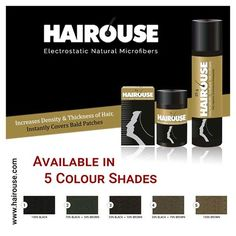 Hairouse is a natural product for baldpatches.