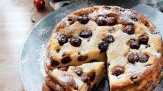 So himmlisch fruchtig-cremig: Käsekuchen mit Kirschen   http://eatsmarter.de/rezepte/kaesekuchen-mit-kirschen
