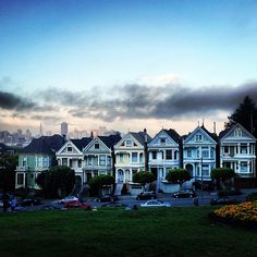 San Francisco's famous Painted Ladies. Photo courtesy of janeyfine on Instagram.   - Explore the World with Travel Nerd Nici, one Country at a Time. http://TravelNerdNici.com