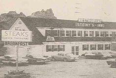 Photo of Steiny's Inn, Times Beach, Missouri before the evacuation.