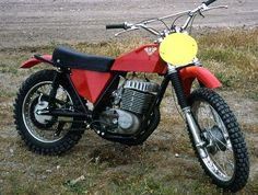 """1973 Maico 501 Squarebarrel.  I believe Rick Seiman """"Super Hunky"""" was once quoted as saying """"it is guaranteed to take the boredom out of a trail ride!"""""""
