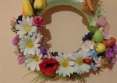 Veľkonočné dekorácie a venčeky Floral Wreath, Wreaths, Handmade, Jewelry, Home Decor, Floral Crown, Hand Made, Jewlery, Decoration Home