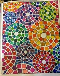 Resultado de imagen para diseños simples para mosaiquismo