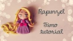 ❤ Rapunzel Fimo Tutorial ❤, via YouTube.