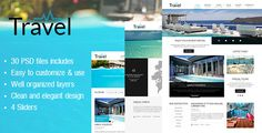 Deals Travel PSD Templatetoday price drop and special promotion. Get The best buy