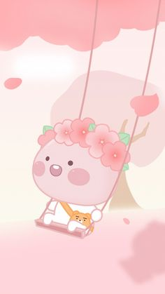 Pink Wallpaper Anime, Peach Wallpaper, Cute Pastel Wallpaper, Graphic Wallpaper, Kawaii Wallpaper, Cute Wallpaper Backgrounds, Cute Cartoon Wallpapers, Wallpaper Iphone Cute, Lock Screen Wallpaper