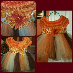 Hand made crochet tutu dress by PrettynPink1984 on Etsy