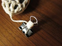 Iron Craft '13 #12 - Crocheted Stone Tablecloth Weights by katbaro, via Flickr