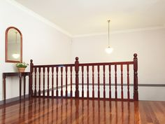 Hallway, staircase landing