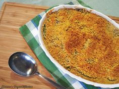 Vegan Green Bean Casserole - Dianne's Vegan Kitchen