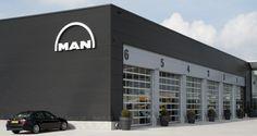 Lichtreclame MAN Trucks
