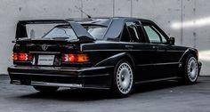 this Mercedes-Benz 190E 2.5-16V Evolution II