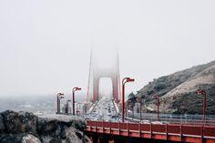 ITAP of the Golden Gate Bridge vanishing into the fog.