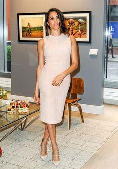 Meghan Markle, nude dress - Meghan Markle fashion and style retrospective