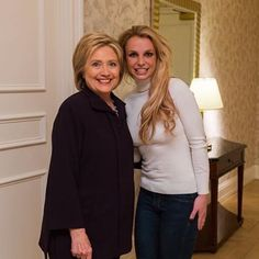 @britneyspears @hillaryclinton Reposted Via @aolentertainment: http://www.aol.com/entertainment/