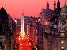 Вечерний Буэнос-Айрес, Аргентина