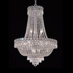Elegant Lighting 1900D Century Crystal Chandelier - Lighting Universe