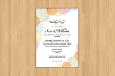 Wedding Invitation Template @creativework247