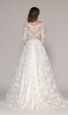 Featured Dress: Eugenia; Wedding dress idea.