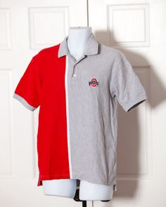 Perfect short for some Buckeye basketball! OHIO STATE ACTIVE size - Medium vintage pre-owned Buckeye Basketball, Red Polo Shirt, Red And Grey, Ohio, Cool Outfits, Polo Ralph Lauren, Etsy Shop, Medium, Awesome