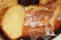 Receita de Bolo de Limão (Bolo de Limão com o iogurte grego) - Teretetê na Cozinha
