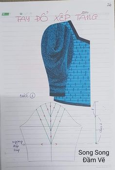 Dress Patterns, Sewing Patterns, Sewing Pants, Sari Blouse Designs, Blouse Models, My Sewing Room, Pattern Drafting, Sleeve Designs, Sewing Projects For Beginners