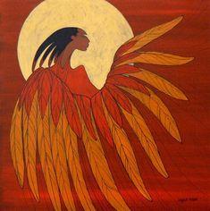 Phoenix - Contemporary Canadian Native, Inuit & Aboriginal Art Artist: Maxine Noel