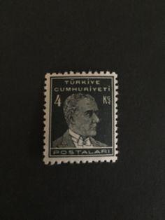 #744 Turkey - Mustafa Kemal Pasha (Kemal Atatürk)