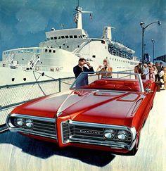 Illustration Pontiac 1968 -