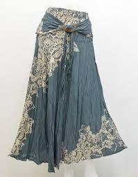 Resultado de imagen para gypsy skirt