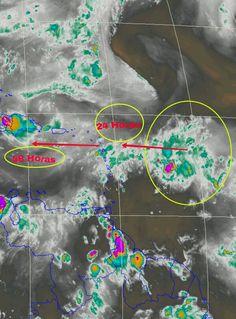 Onda Tropical al Este de Las Antillas, se espera que ingrese al Caribe. Atentos en las próximas 24/48 horas eje costero Venezolano.
